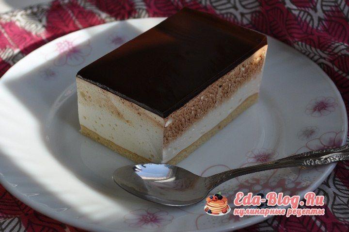Птичья молоко торт рецепт пошагово в домашних условиях