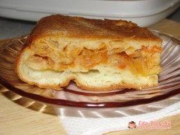 наливной пирог с капустой