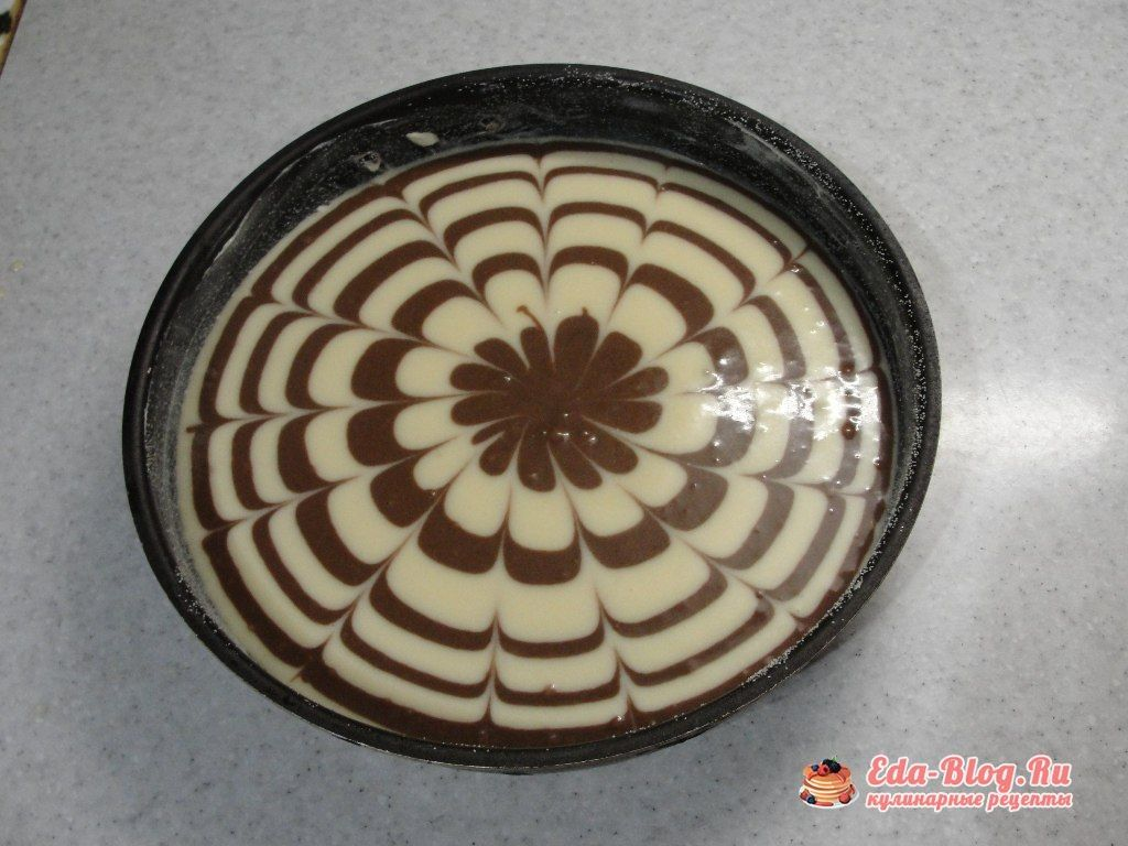 пирог перед духовукой