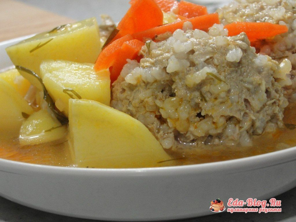 Фарш с рисом на сковороде рецепт с пошагово в домашних условиях