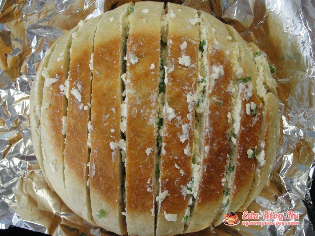 начиняем хлеб