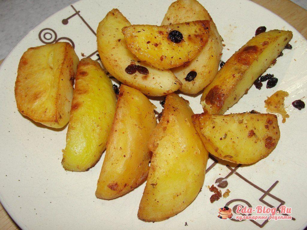 картофельные дольки рецепт
