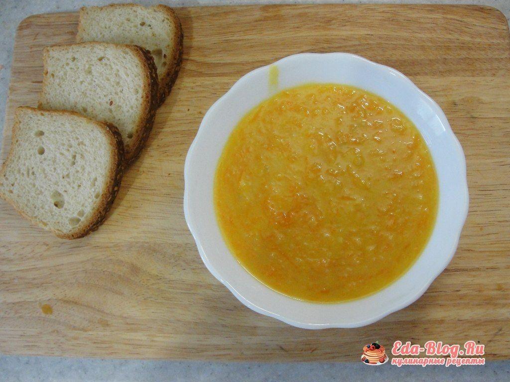 рецепт горохового супа в мультиварке