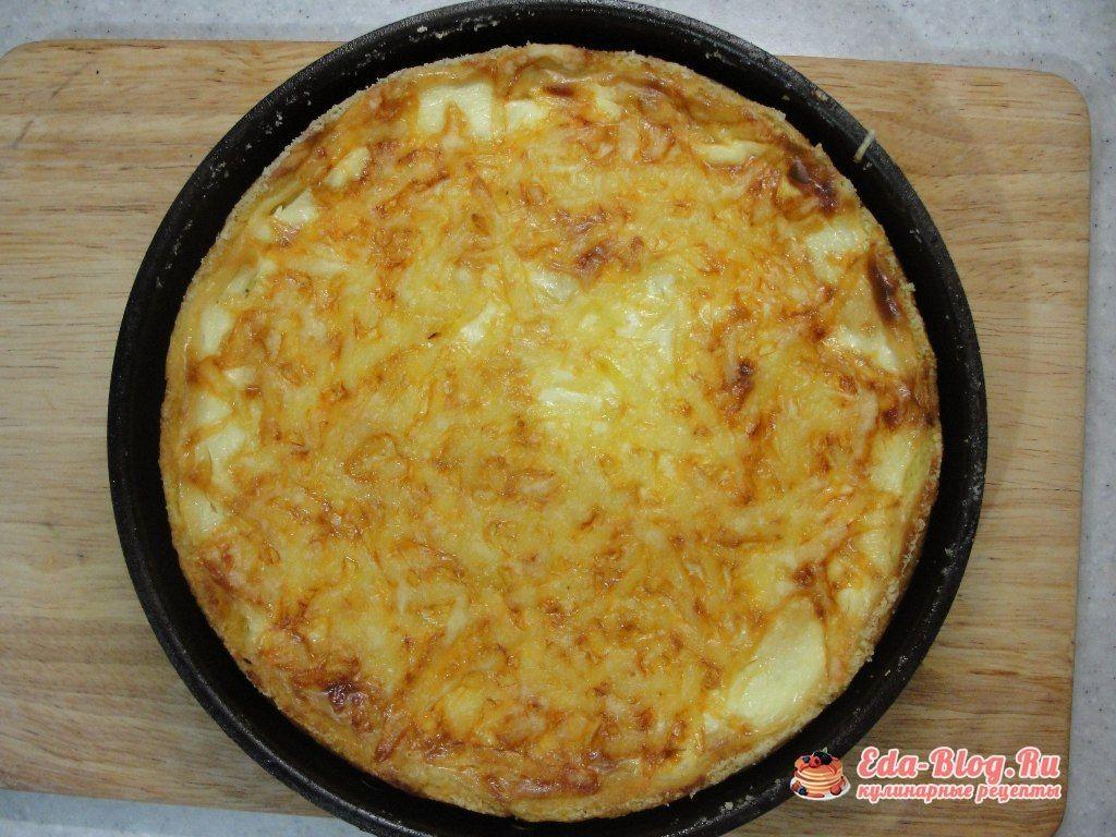 запеканка картофельная с фаршем в духовке фото