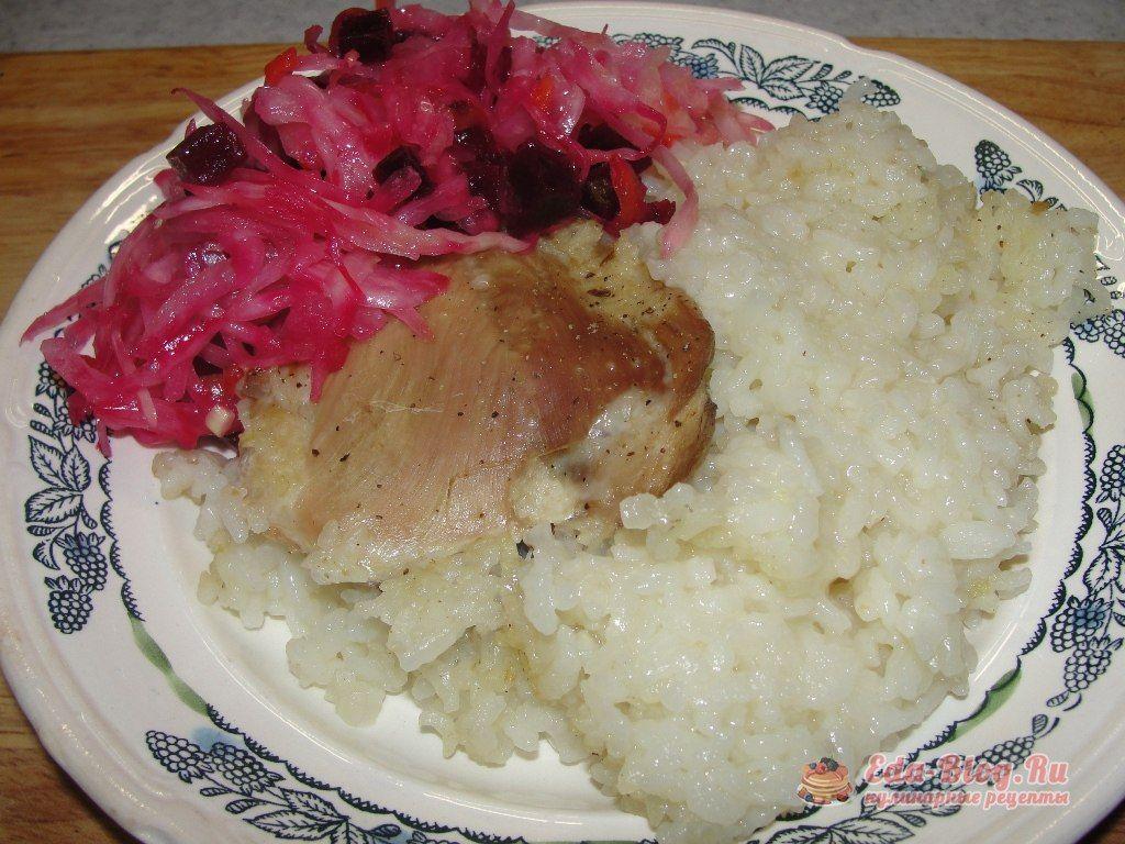 курица с рисом рецепт