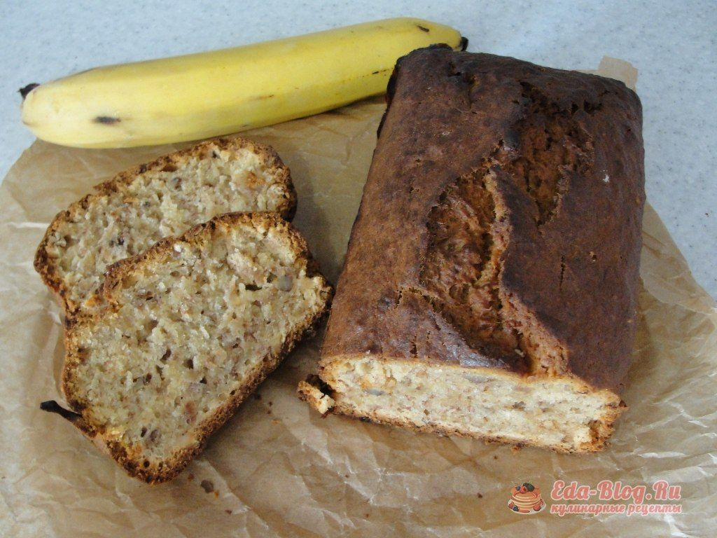 Банановый кекс в духовке рецепты