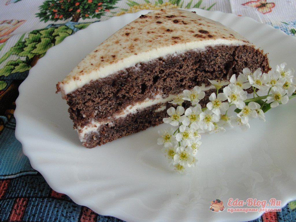 черемуховый торт рецепт с фото