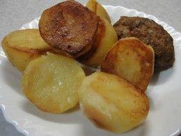 вкусный картофель