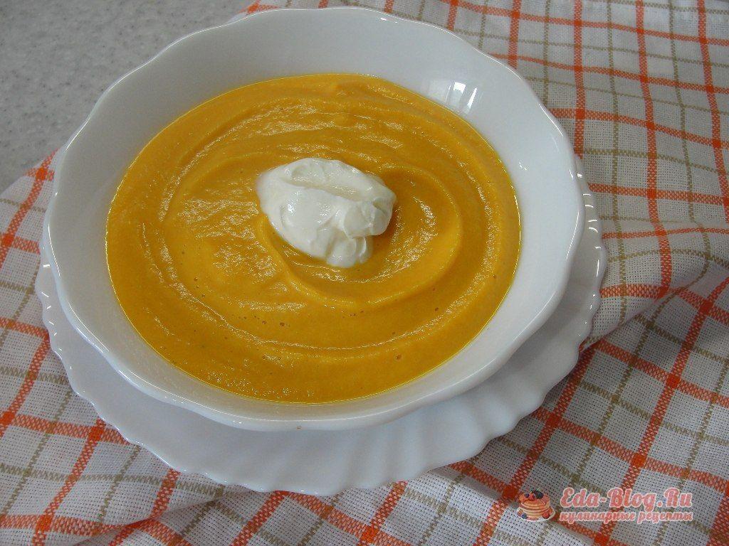 суп пюре из моркови