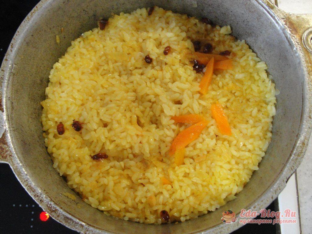 рис сварился