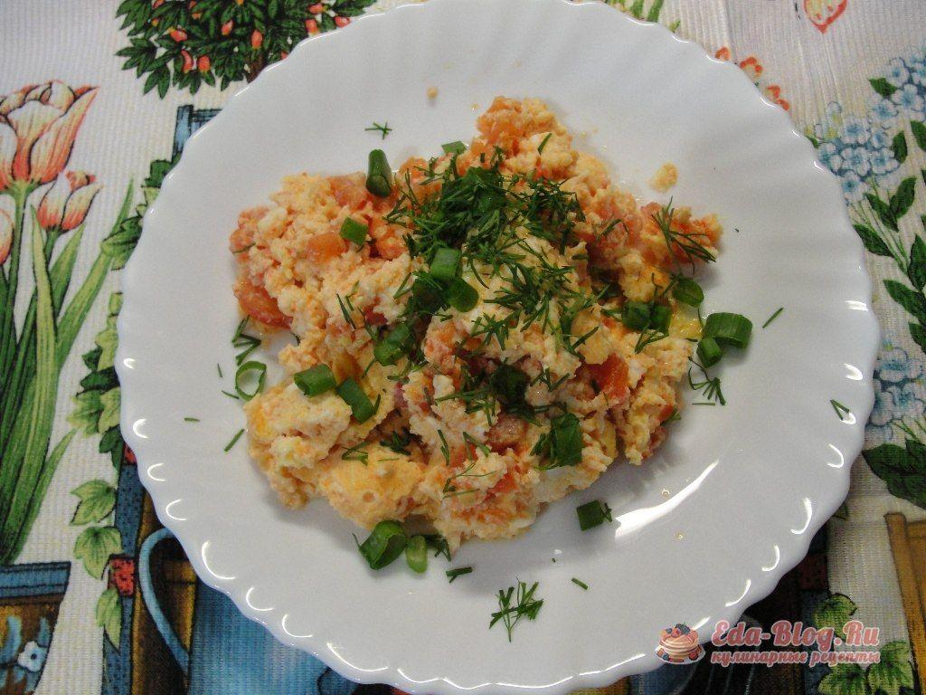 омлет с помидорами рецепт