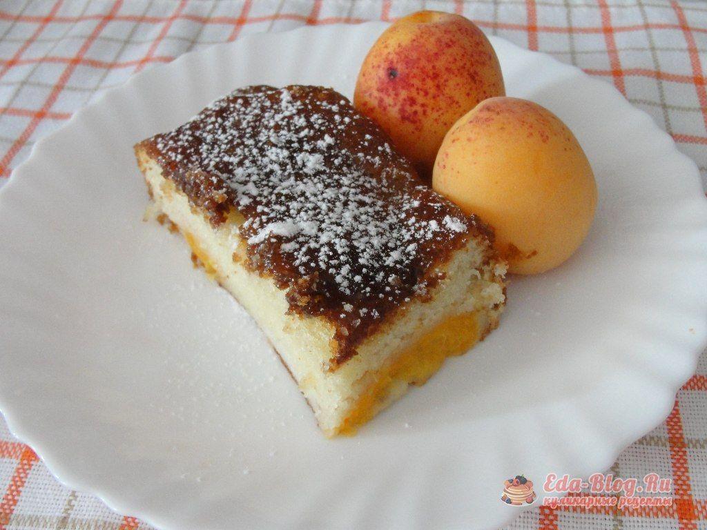 пирог с абрикосами рецепт