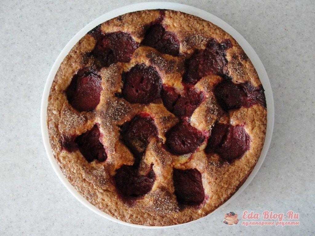 пирог со сливой рецепт