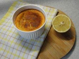 лимонный пудинг