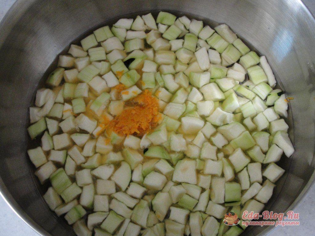 Цукаты из кабачков в домашних условиях рецепт с фото 193