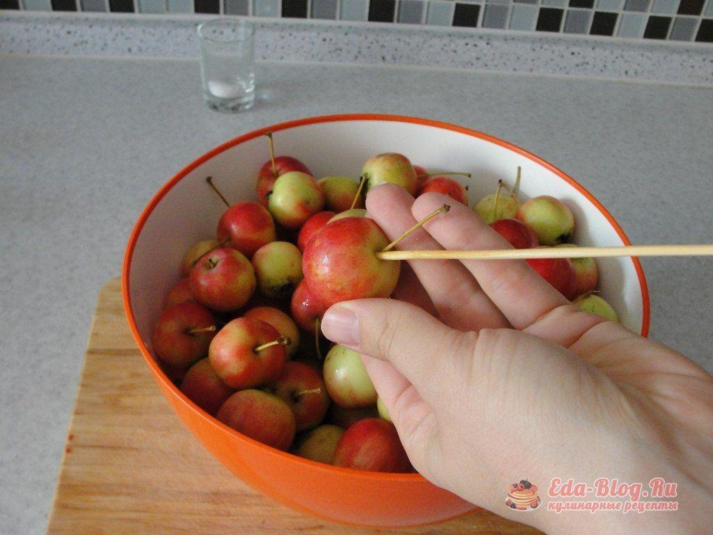 готовим яблоки