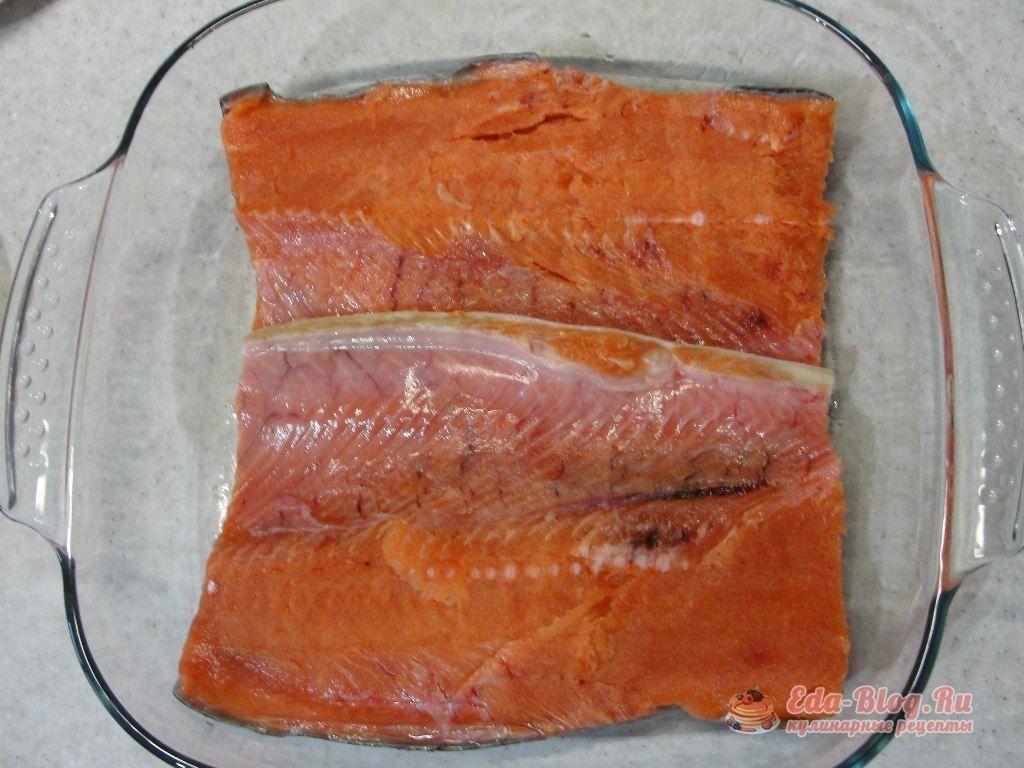 Филе рыбы фольге рецепт с фото