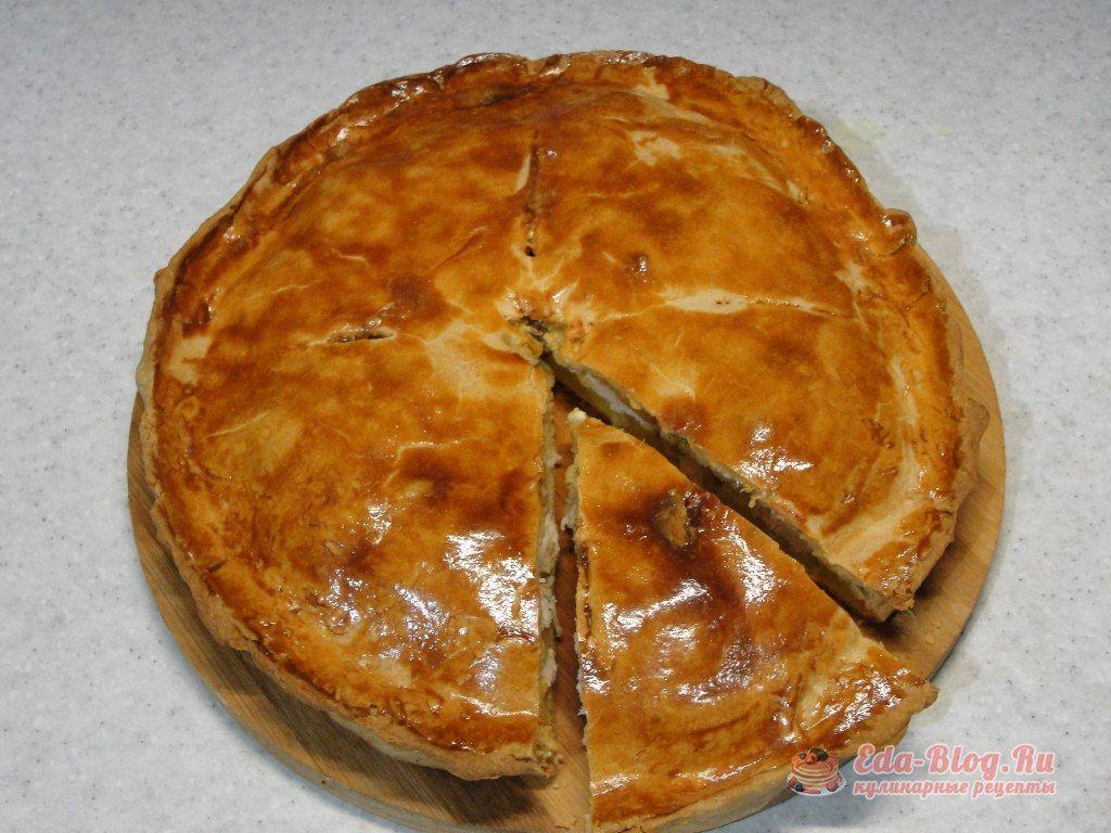 пирог с курицей и кратофелем рецепт