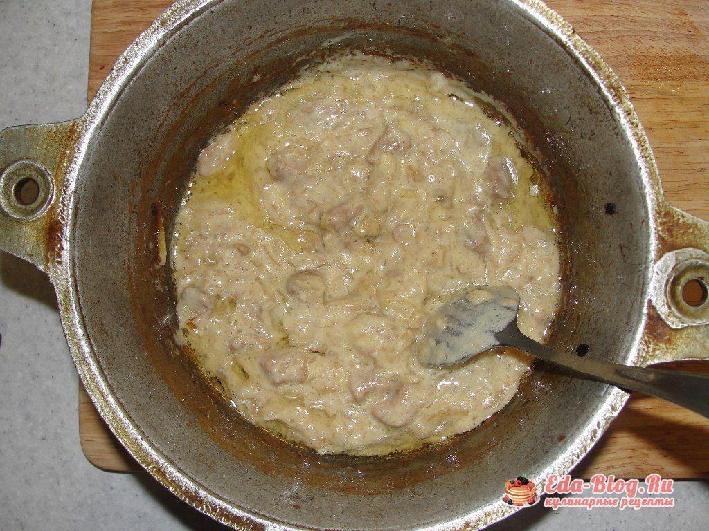 готовое с горчицей