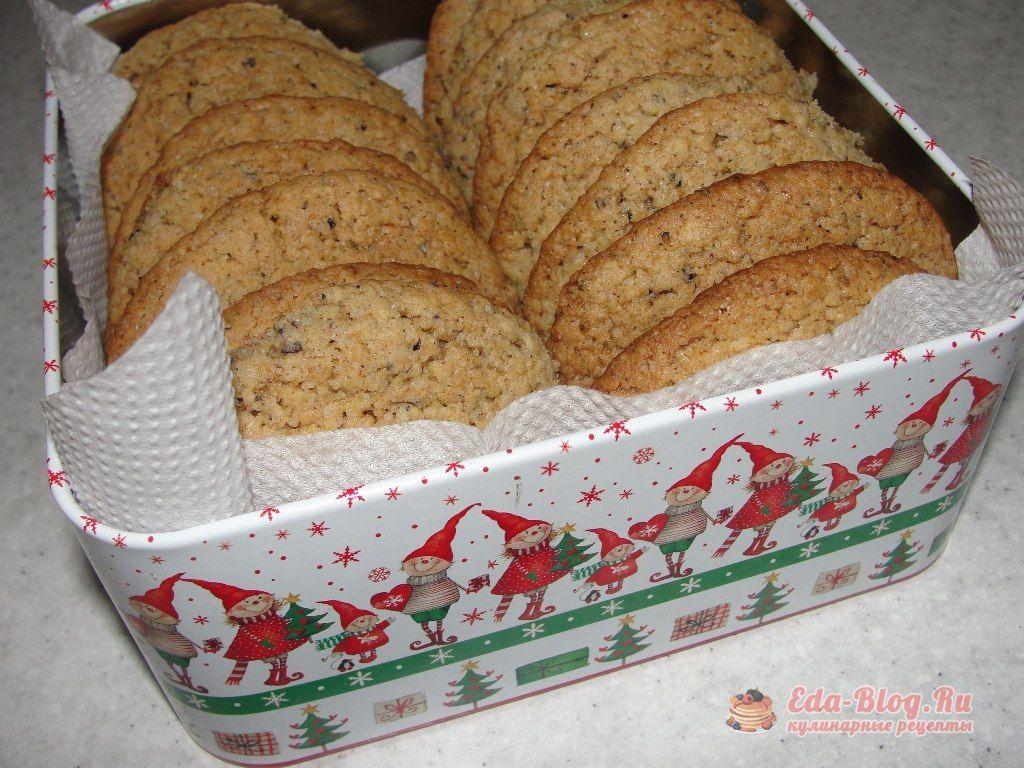 рецепт овсяного печенья из овсяных хлопьев