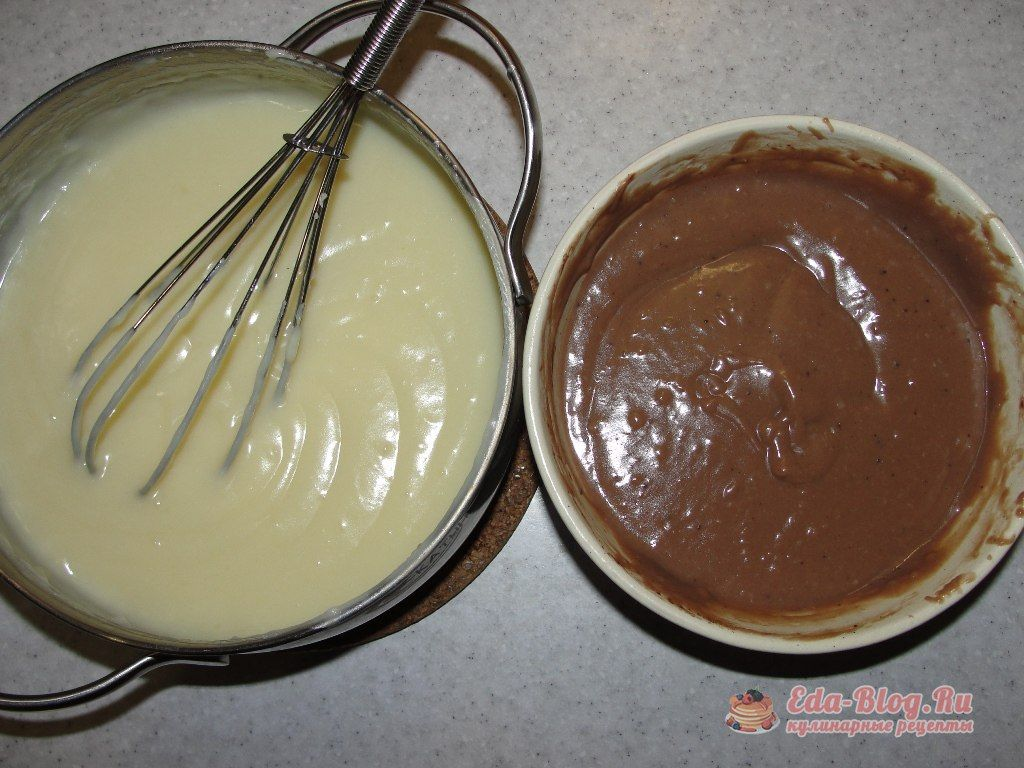 заварной крем рецепт с фото
