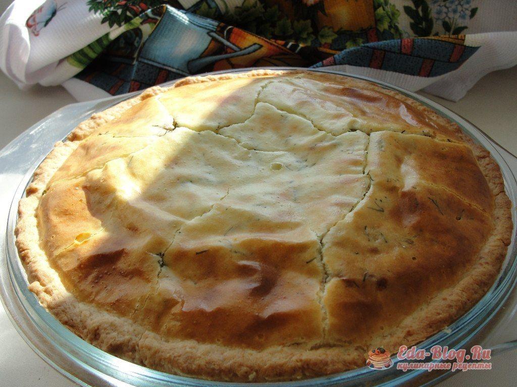 пирог с консервированной сайрой