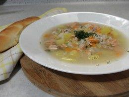 рыбный суп из красной рыбы рецепт