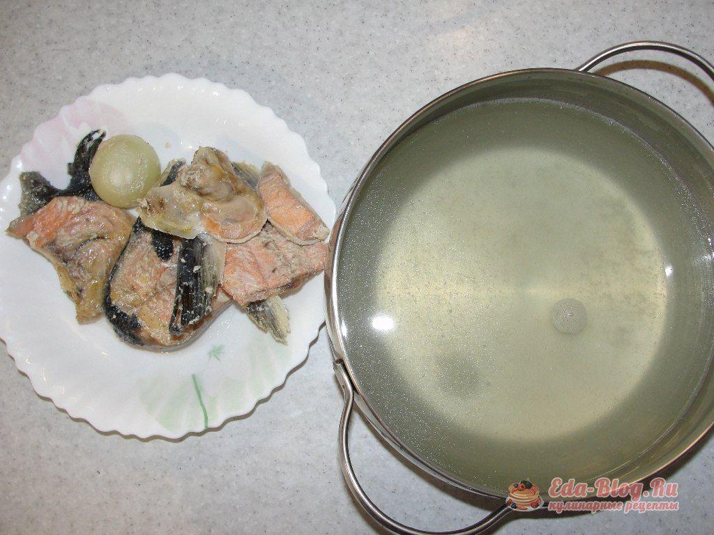 готовый рыбный бульон