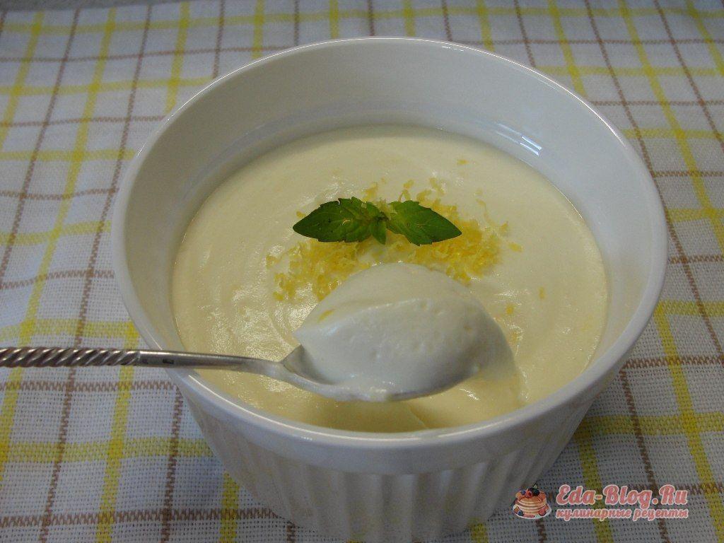 десерт из лимона