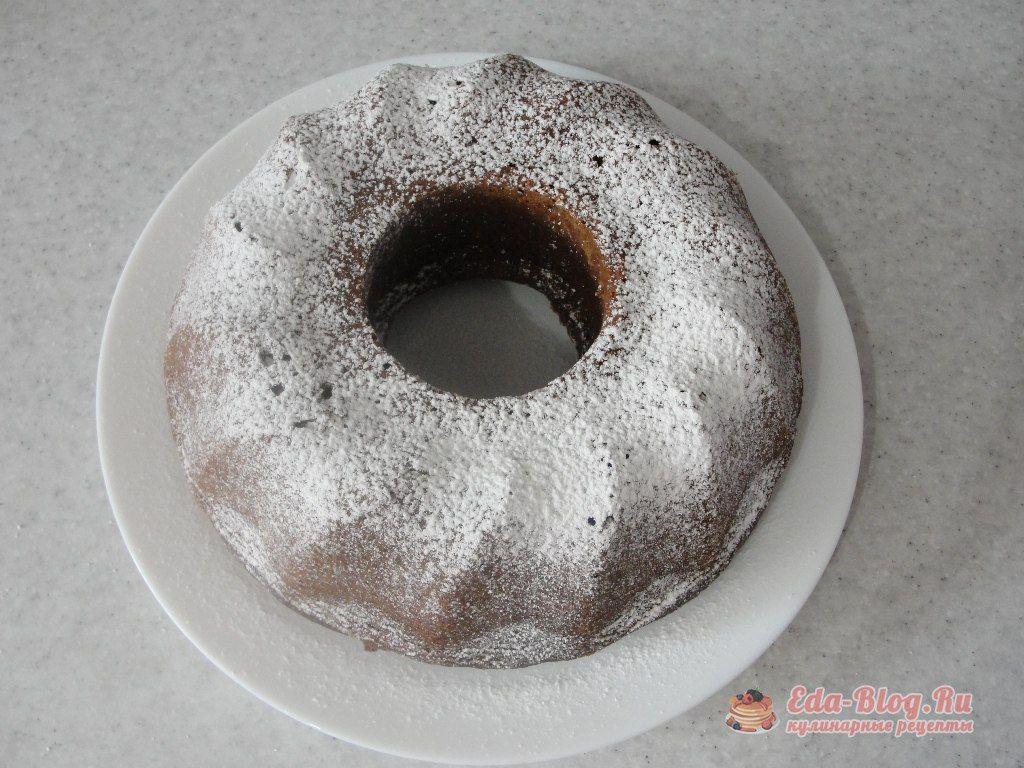 шоколадный кекс из кабачка
