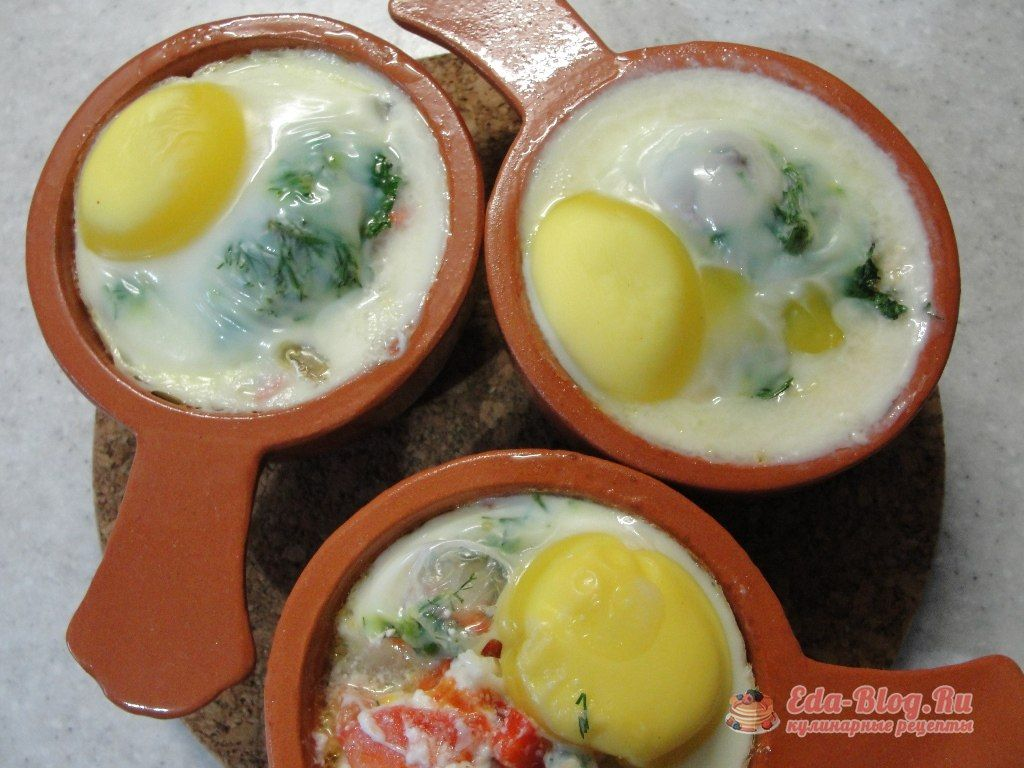 яйца коккот рецепт с фото