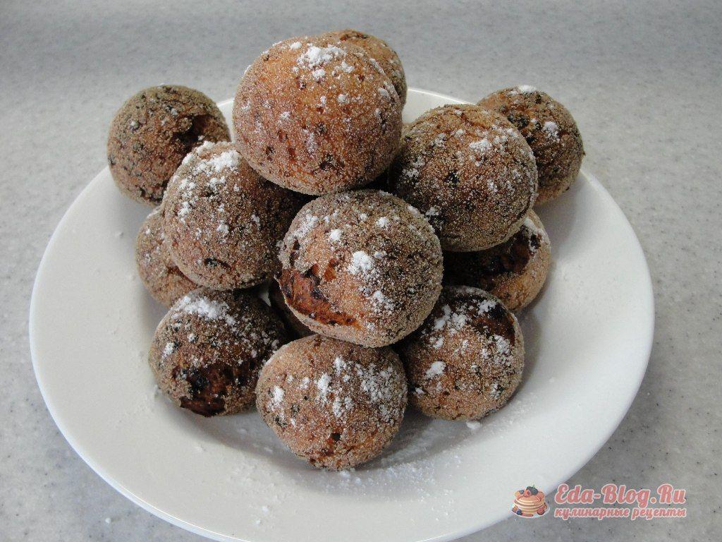 творожные пончики рецепт